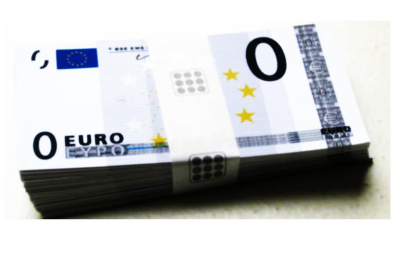 billet 0 euros